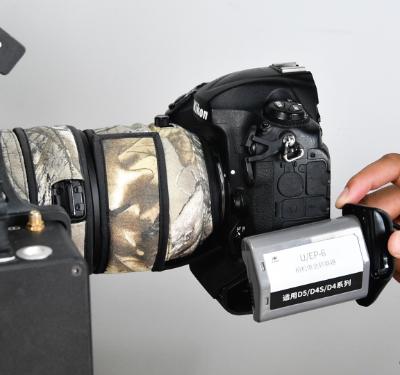 第11步  相机电池转换器的安装