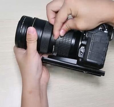 第1节 尼康短焦镜头的安装